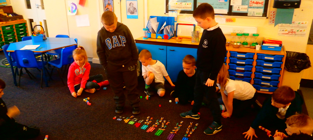 Year 1 have fun with active maths