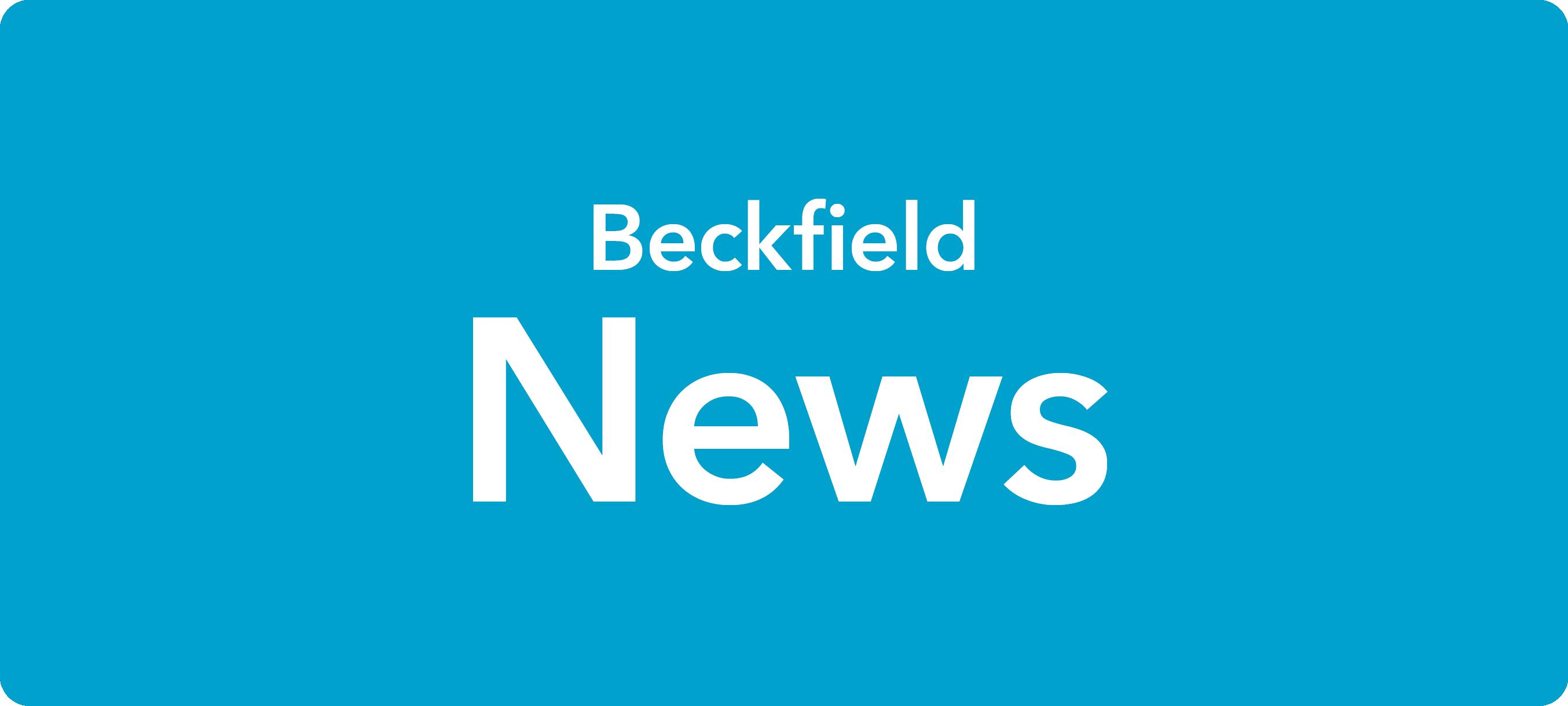 Beckfield News – 1 October